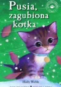 Holly Webb - Pusia, zagubiona kotka