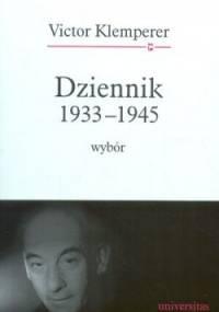 Victor Klemperer - Dziennik 1933-1945