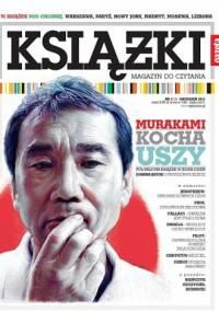 Jacek Piekara - Książki. Magazyn do czytania, nr 3 / grudzień 2011