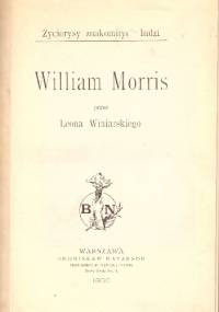 Leon Winiarski - William Morris