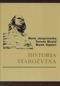 Marek Stępień - Historia starożytna