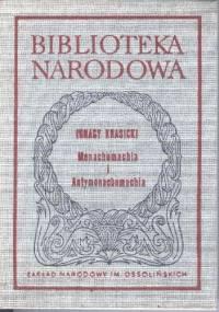 Ignacy Krasicki - Monachomachia i Antymonachomachia