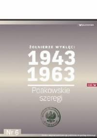 Kazimierz Krajewski - Żołnierze Wyklęci 1943-1963, Nr 6 - Poakowskie szeregi