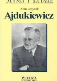 Anna Jedynak - Ajdukiewicz