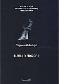 Zbigniew Mikołejko - Elementy filozofii