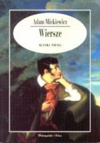 Adam Mickiewicz - Wiersze