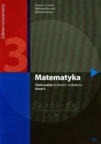 Elżbieta Świda - Matematyka 3. Zbiór zadań. Zakres rozszerzony