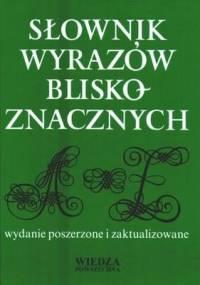 Stanisław Skorupka - Słownik wyrazów bliskoznacznych