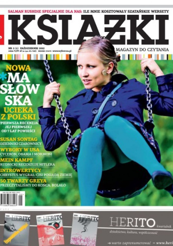 Marek Bieńczyk - Książki. Magazyn do czytania, nr 6 / wrzesień 2012