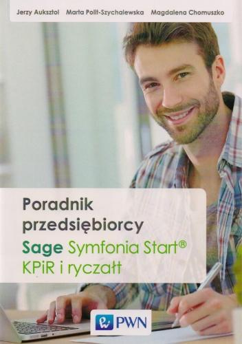 Magdalena Chomuszko - Poradnik przedsiębiorcy. Sage Symfonia START, KPiR i ryczałt + CD