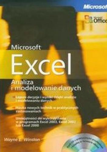 Winston Wayne L. - Microsoft Excel. Analiza i modelowanie danych + płyta CD