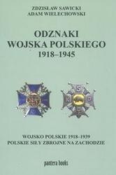 Zdzisław Sawicki - Odznaki wojska polskiego 1918-1945
