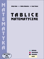 Alicja Cewe - Tablice matematyczne