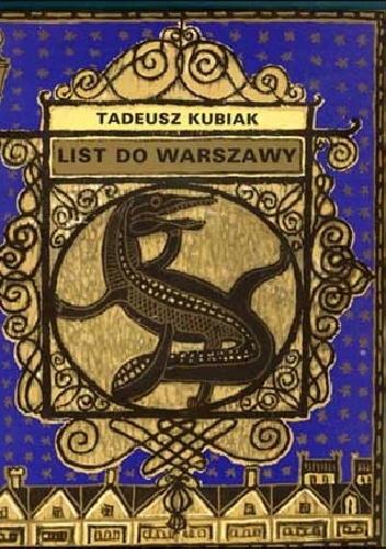 Tadeusz Kubiak - List do Warszawy