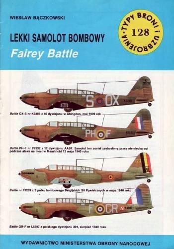 Wiesław Bączkowski - Lekki samolot bombowy Fairey Battle