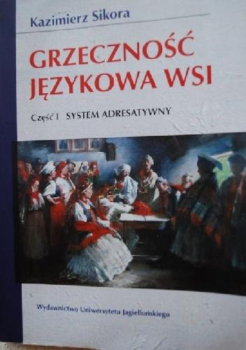 Kazimierz Sikora - Grzeczność językowa wsi