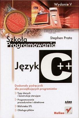 Stephen Prata - Język C++. Szkoła programowania. Wydanie V