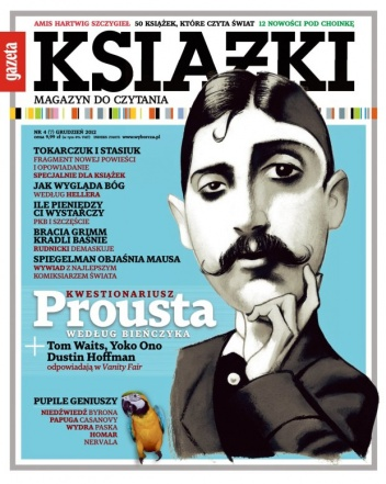 Andrzej Stasiuk - Książki. Magazyn do czytania, nr 7 / grudzień 2012