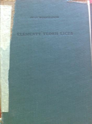 Iwan Winogradow - Elementy teorii liczb