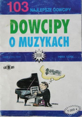 Janusz Nowosad - Dowcipy o muzykach. 103 najlepsze dowcipy