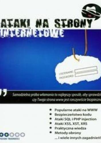 Gliwiński Mariusz - Ataki na strony internetowe z płytą CD
