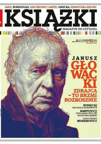 Janusz Rudnicki - Książki. Magazyn do czytania, nr 3 (10) / październik 2013