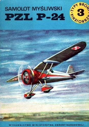 Jerzy Domański - Samolot myśliwski PZL P-24